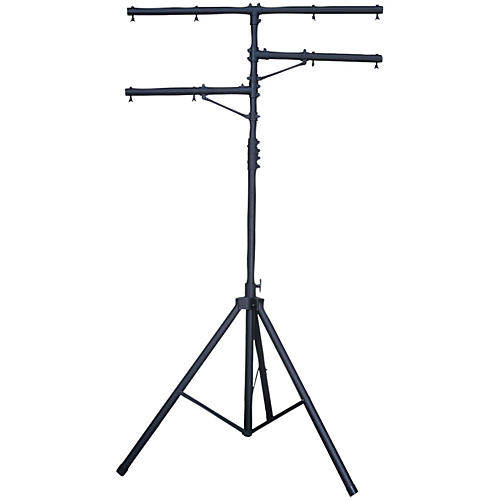 CHAUVET DJ CH-02 Aluminum Stand with T-Bar and 2 Arms thumbnail