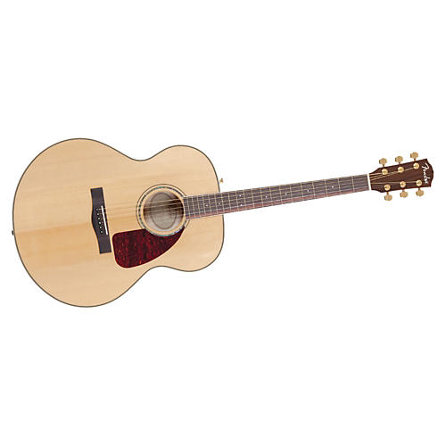 Fender CJ290S Flame Maple Jumbo Acoustic Guitar-thumbnail