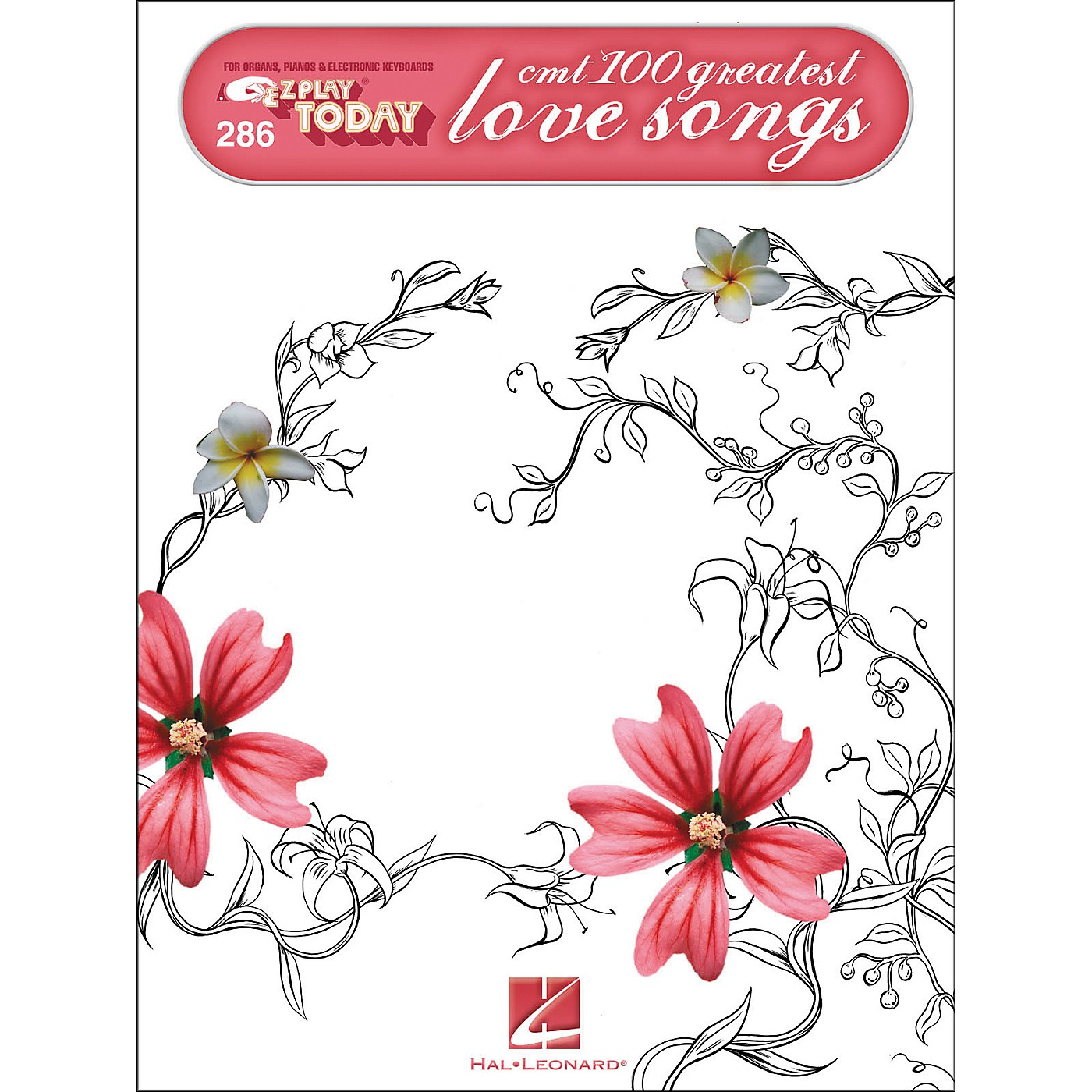 Hal Leonard CMT'S 100 Greatest Country Love Songs E-Z Play 286 thumbnail