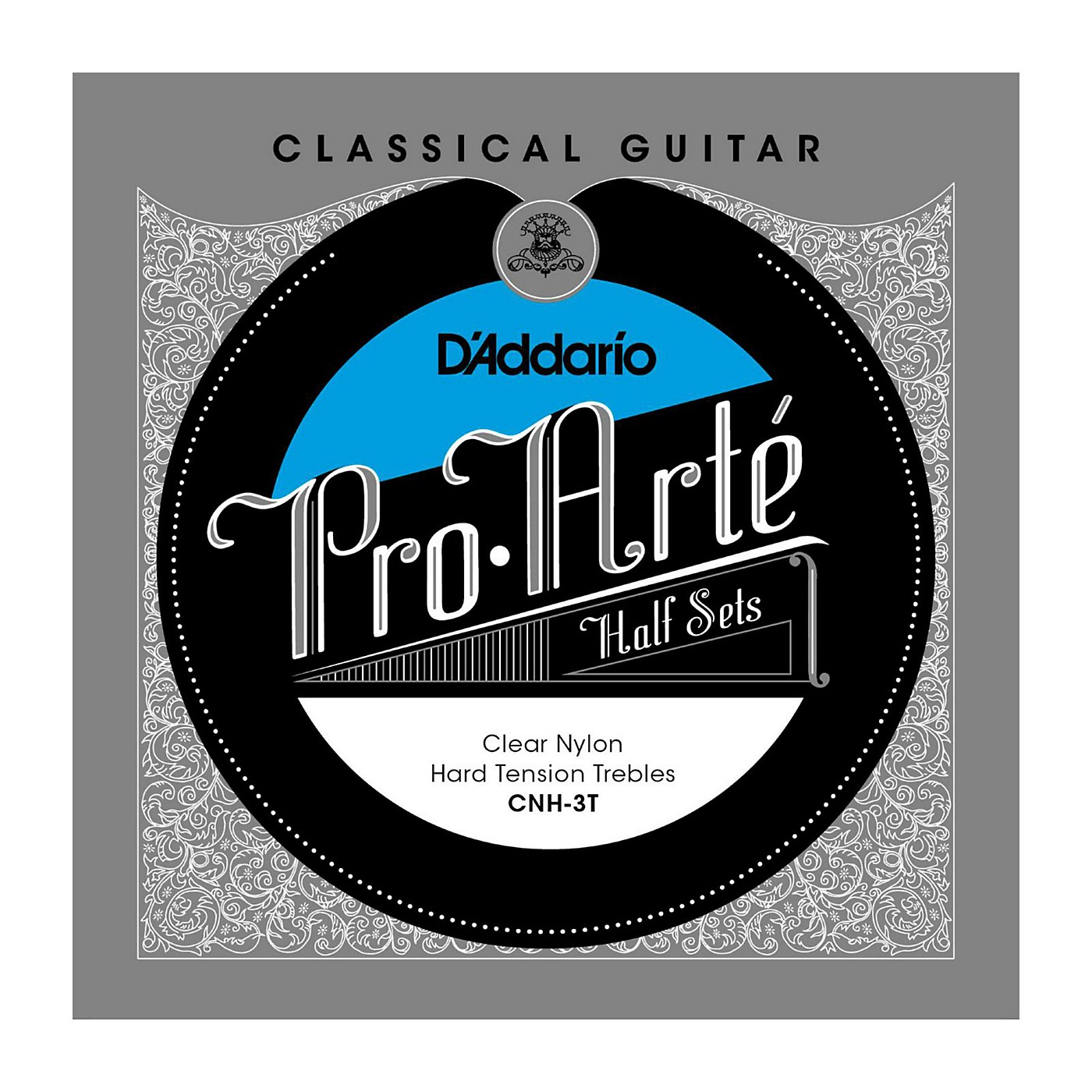D'Addario CNH-3T Pro-Arte Hard Tension Classical Guitar Strings Half Set thumbnail