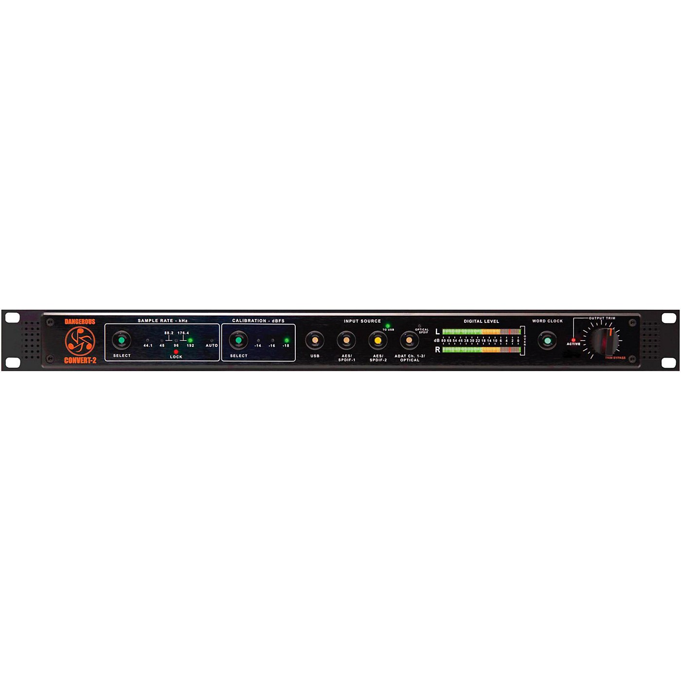 Dangerous Music CONVERT-2 Two-Channel Reference Grade Digital to Analog Converter thumbnail