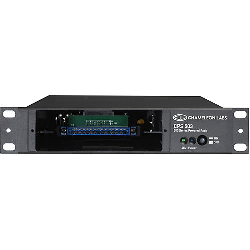 Chameleon Labs CPS503PWR 500 Series Single Powered Rack thumbnail