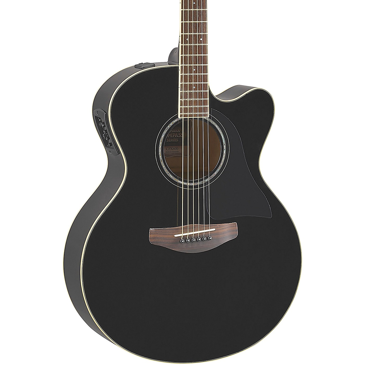 Yamaha CPX600 Medium Jumbo Acoustic-Electric Guitar thumbnail