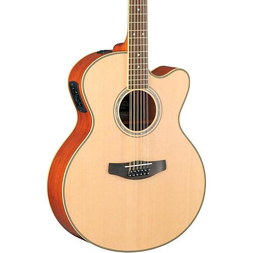 Yamaha CPX700II-12 Medium-Jumbo 12-String Cutaway Acoustic-Electric Guitar-thumbnail