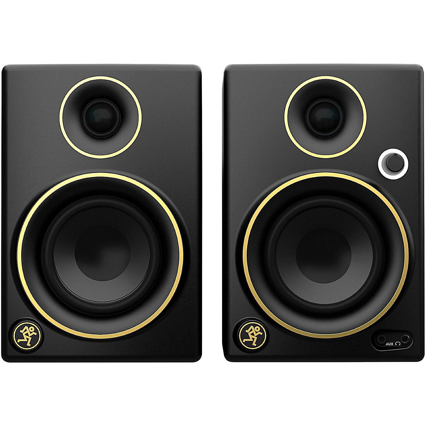 Mackie CR3 Limited Edition Gold Trim 3 in. Multimedia Monitors (Pair) thumbnail