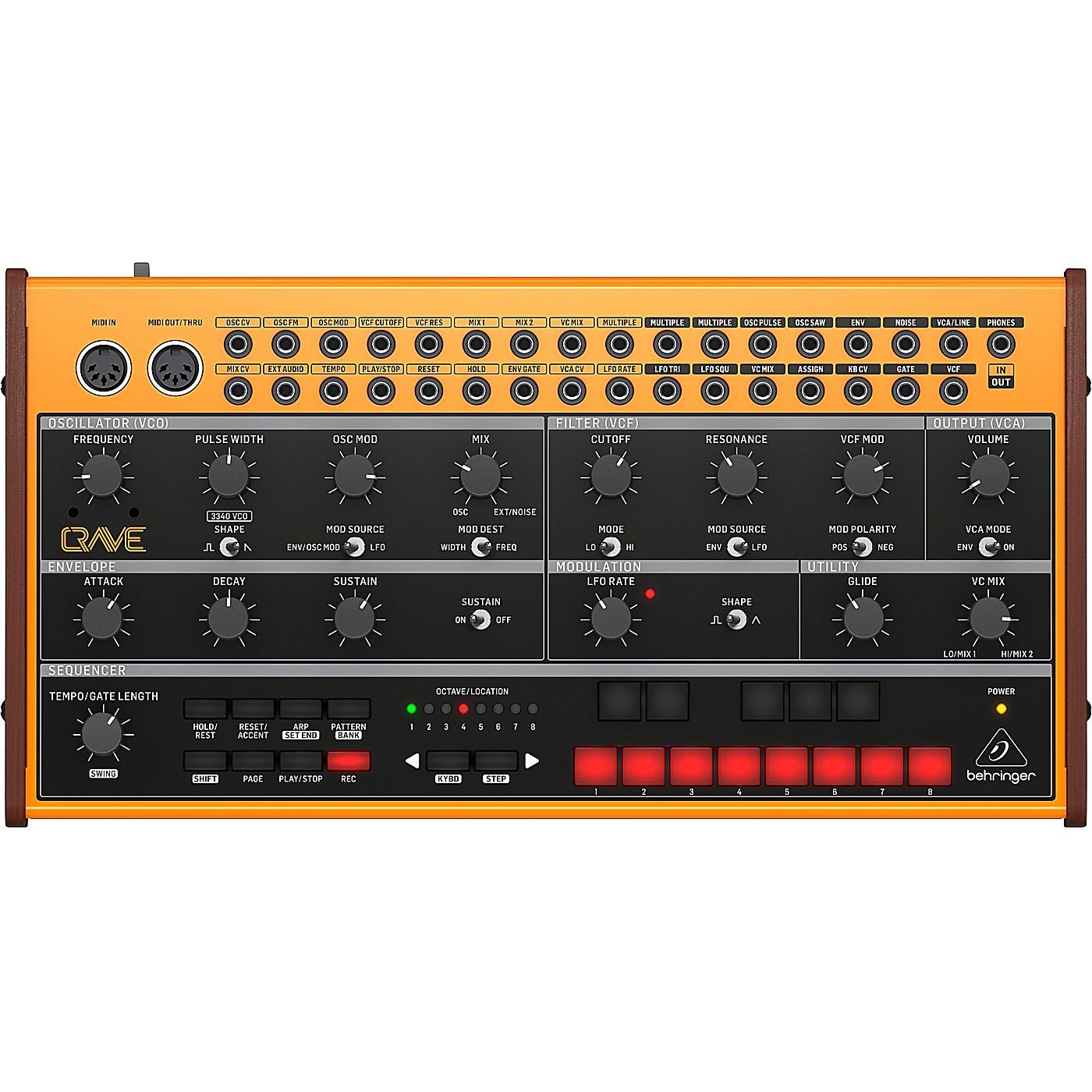 Behringer CRAVE Analog Semi-Modular Synthesizer thumbnail