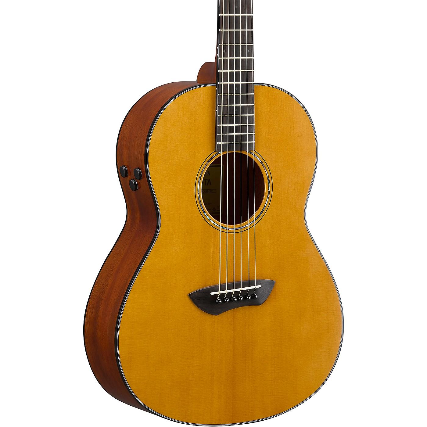 Yamaha CSF-TA TransAcoustic Parlor Acoustic-Electric Guitar thumbnail