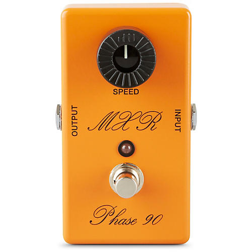 MXR Custom Shop CSP-101CL Script Logo Phase 90 with LED Guitar Effects Pedal thumbnail