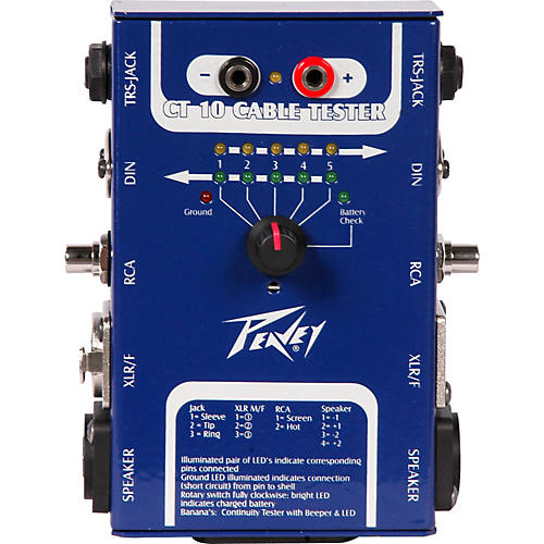 Peavey CT-10 Cable Tester thumbnail
