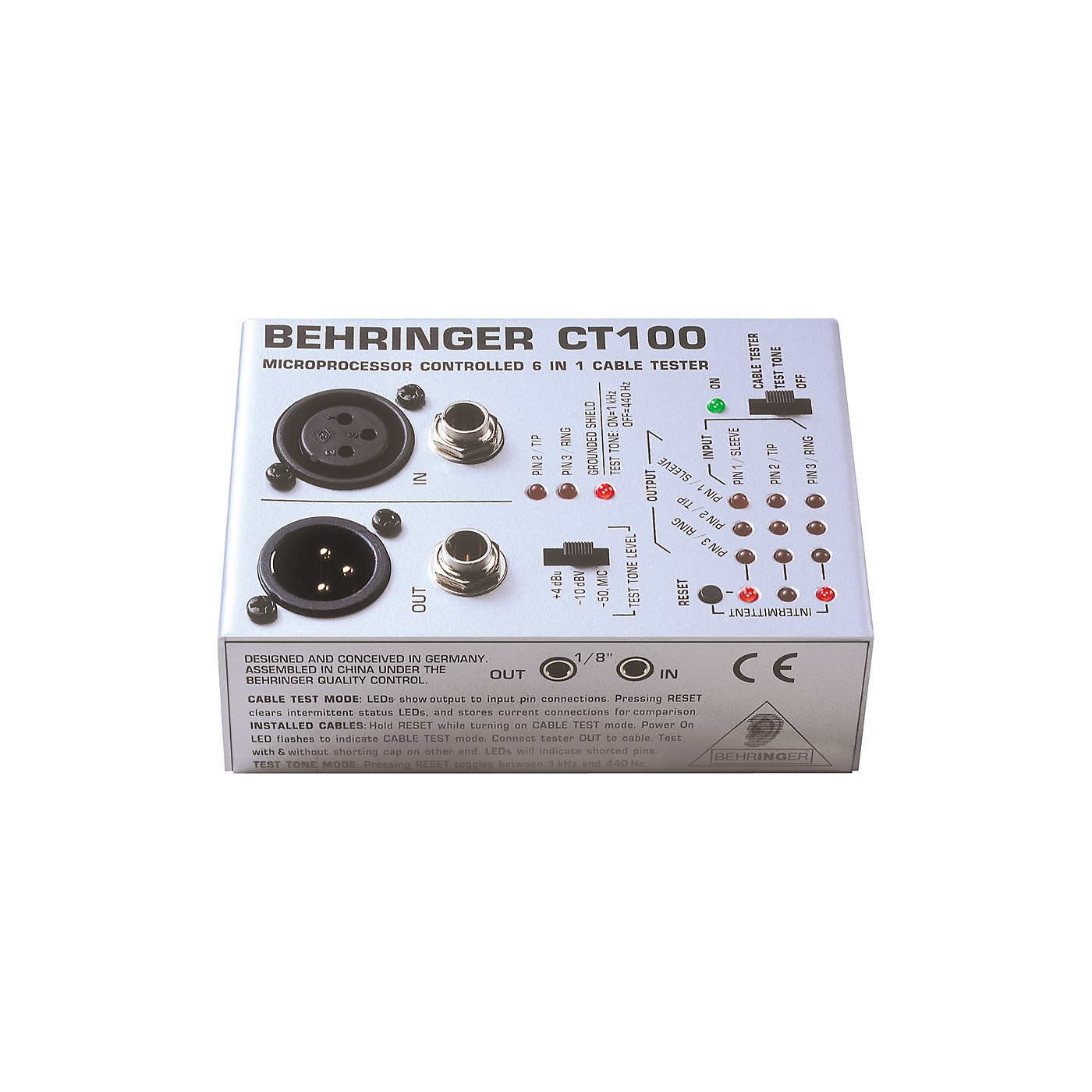Behringer CT-100 Cable Tester thumbnail