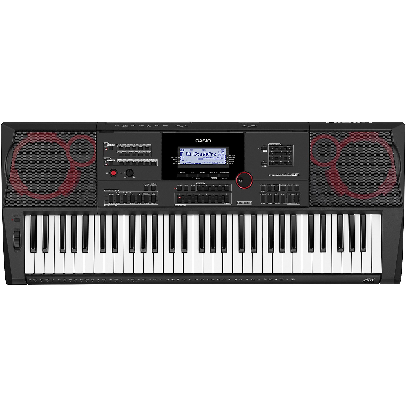 Casio CT-X5000 61-Key Portable Keyboard thumbnail