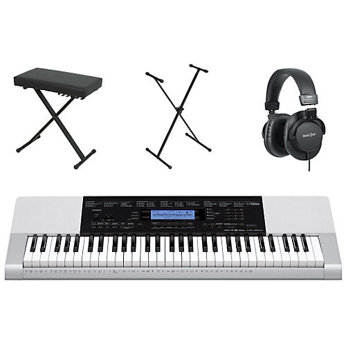 Casio CTK-4200 61-Key Portable Keyboard  with Bench, Stand, & Headphones-thumbnail