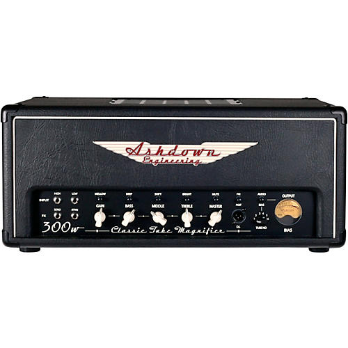 Ashdown CTM-300 300W Tube Bass Amp Head thumbnail