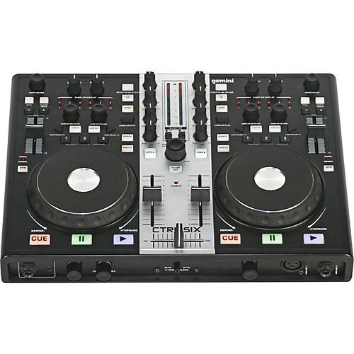 Gemini CTRL-SIX USB DJ Mixer/Controller with Audio Interface thumbnail