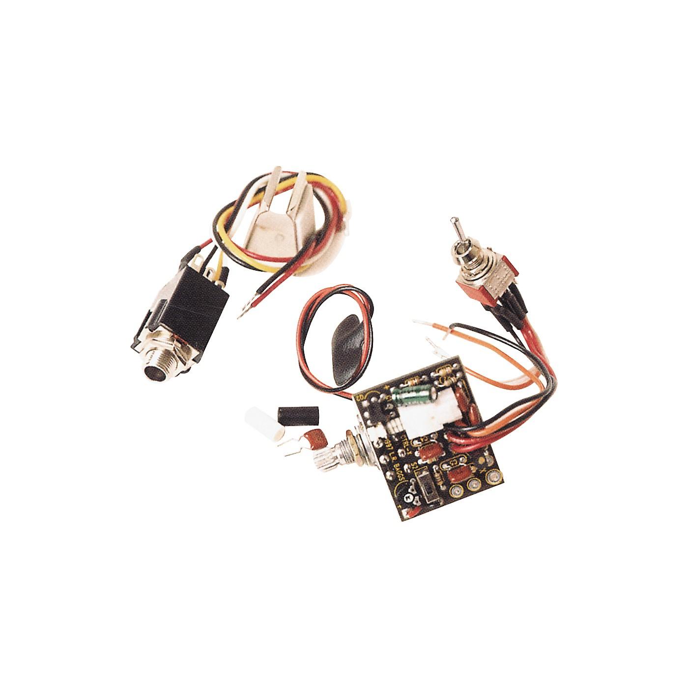 LR Baggs CTRL-X Preamp for LR Baggs Acoustic Strat X-Bridge thumbnail