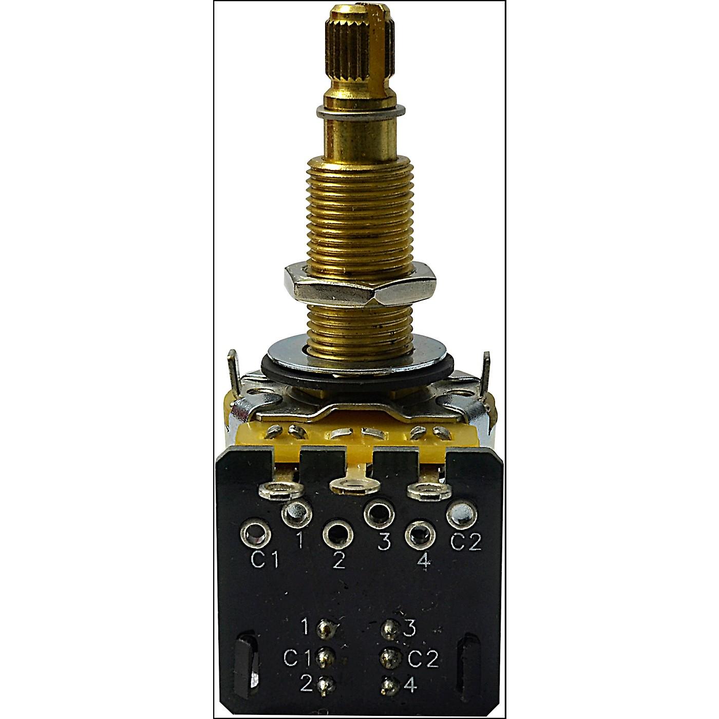 Mojotone CTS 500K Long Shaft DPDT Push-Pull Potentiometer thumbnail