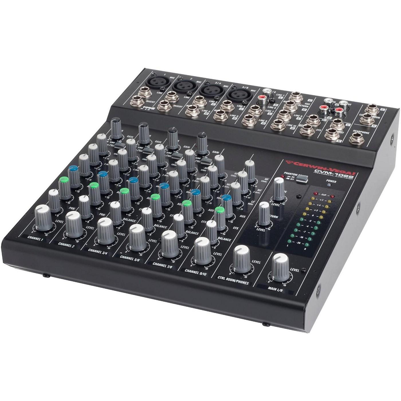 Cerwin-Vega CVM-1022 10-Channel Compact Mixer thumbnail
