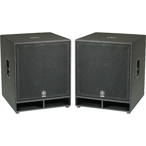 Yamaha CW118V 18 In. Club Concert Series Subwoofer Pair thumbnail
