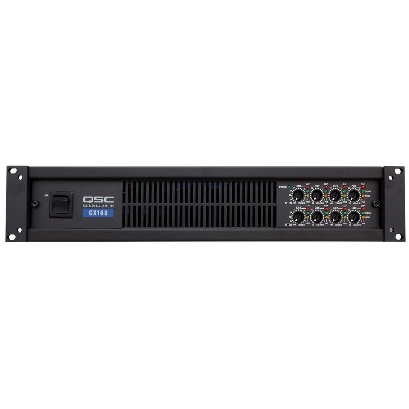 QSC CX168 8-CH Low-Z Power Amplifier thumbnail
