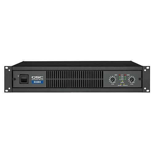 QSC CX302 100W Stereo Power Amp thumbnail
