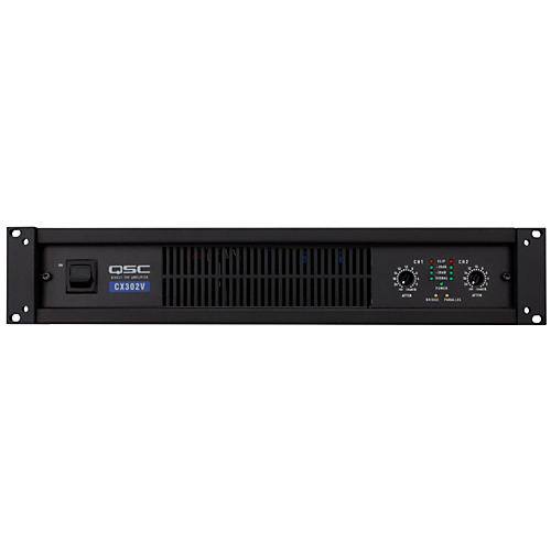 QSC CX302V Stereo 120V Power Amp thumbnail