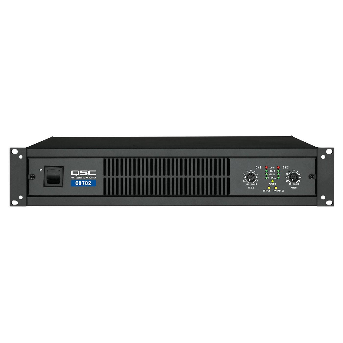 QSC CX702 Stereo Power Amp thumbnail