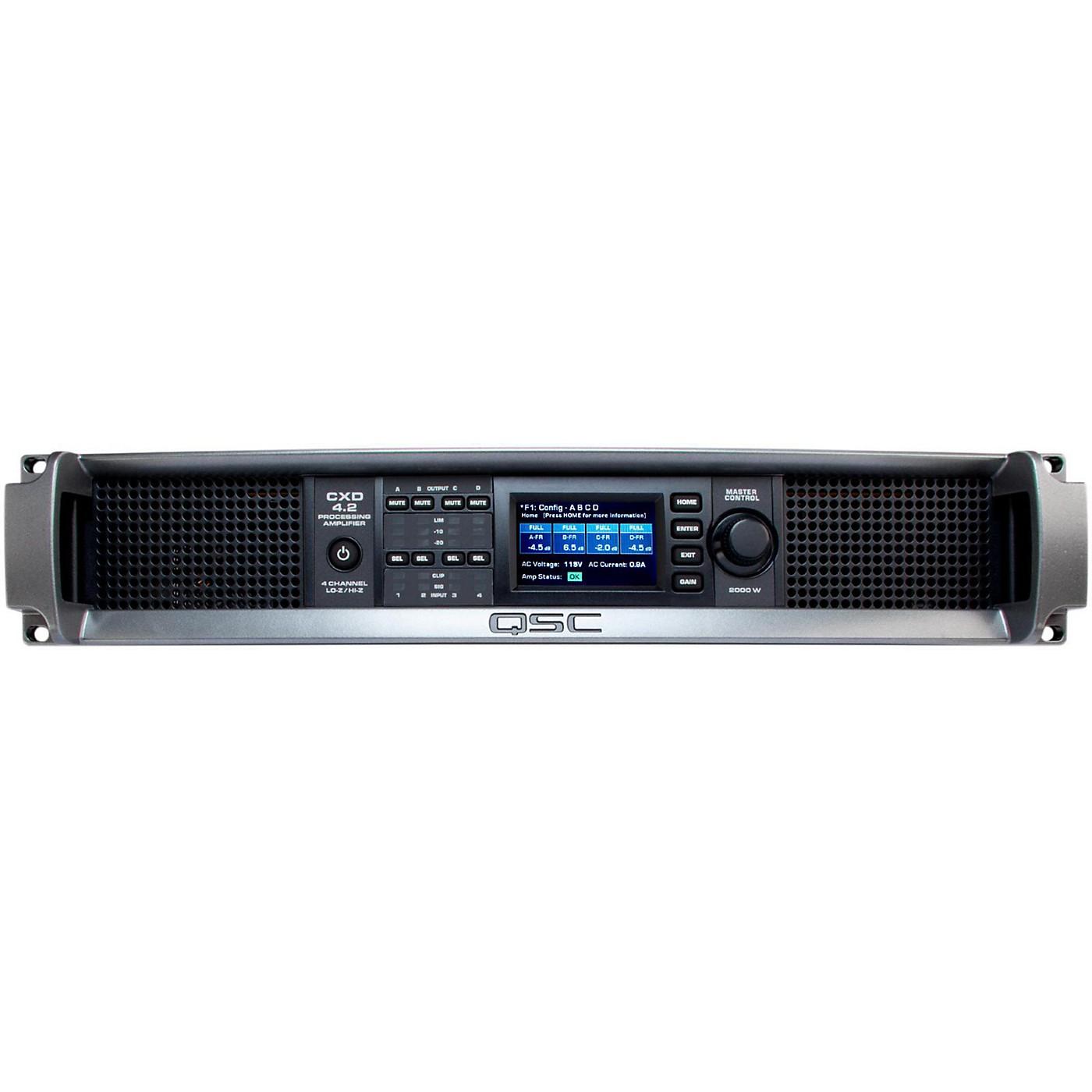 QSC CXD4.2 Multi Channel DSP Amplifier thumbnail
