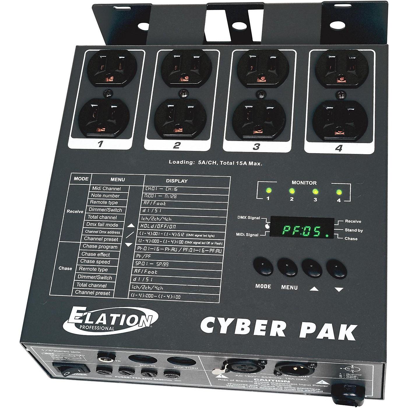 Elation CYBER PAK 4-Channel Dimmer thumbnail