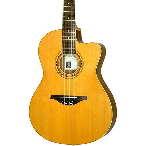 Manuel Rodriguez Caballero 10 Cutaway Nylon String Acoustic-Electric Guitar thumbnail