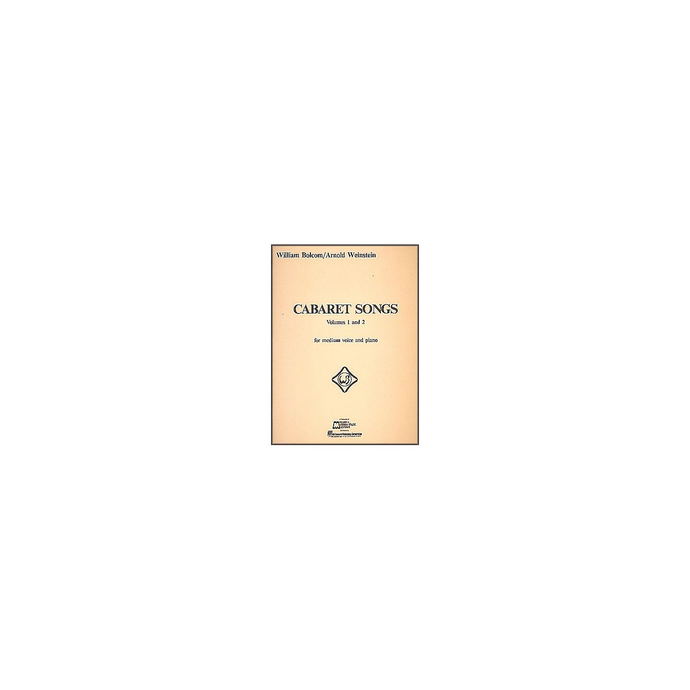 Hal Leonard Cabaret Songs Vol 1 & 2 for Medium Voice And Piano thumbnail
