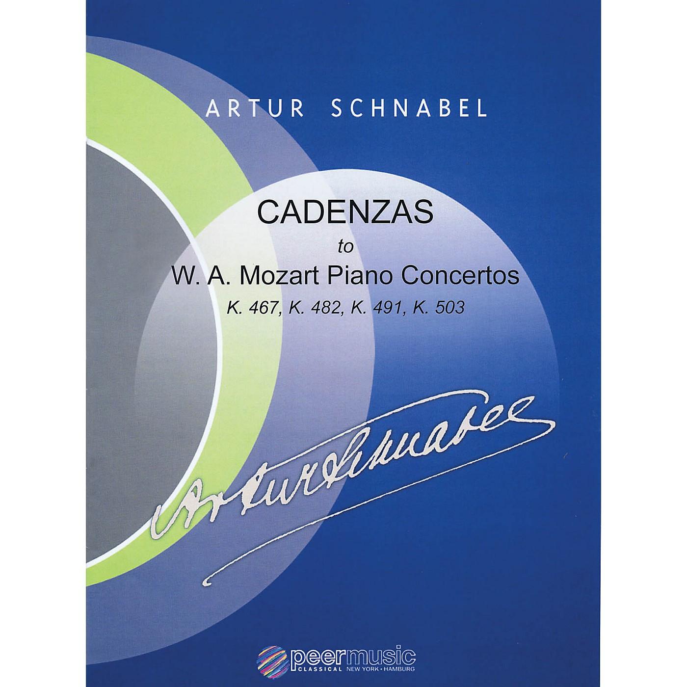 Peer Music Cadenzas to Mozart Piano Concertos, K. 467, K. 482, K. 491, K. 503 Peermusic Classical by Schnabel thumbnail