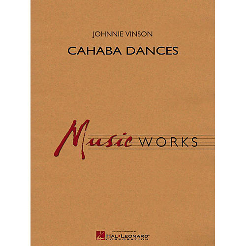 Hal Leonard Cahaba Dances Concert Band Level 4 thumbnail