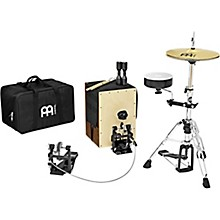 Meinl Cajon Drum Set with Cymbals and Hardware
