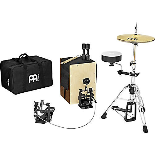 Meinl Cajon Drum Set with Cymbals and Hardware thumbnail