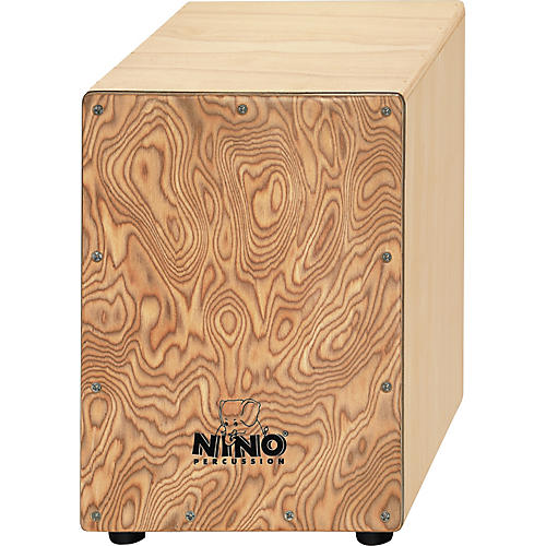Nino Cajon with Makah Burl Frontplate-thumbnail