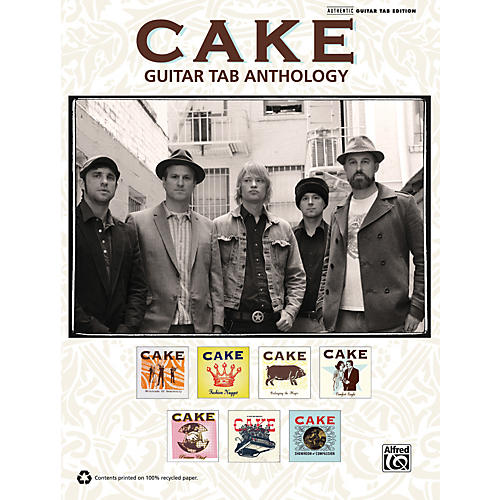 Alfred Cake - Guitar TAB Anthology Book-thumbnail