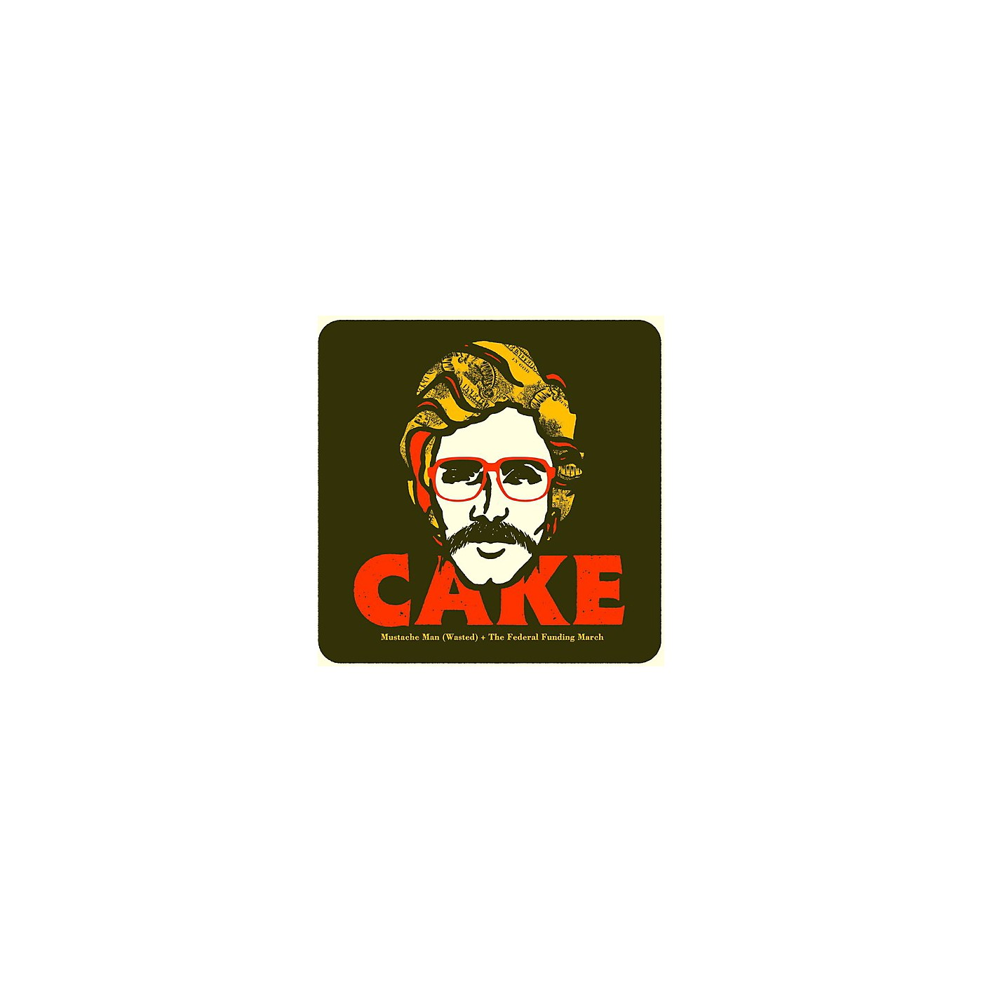 Alliance Cake - Mustache Man (Wasted) thumbnail