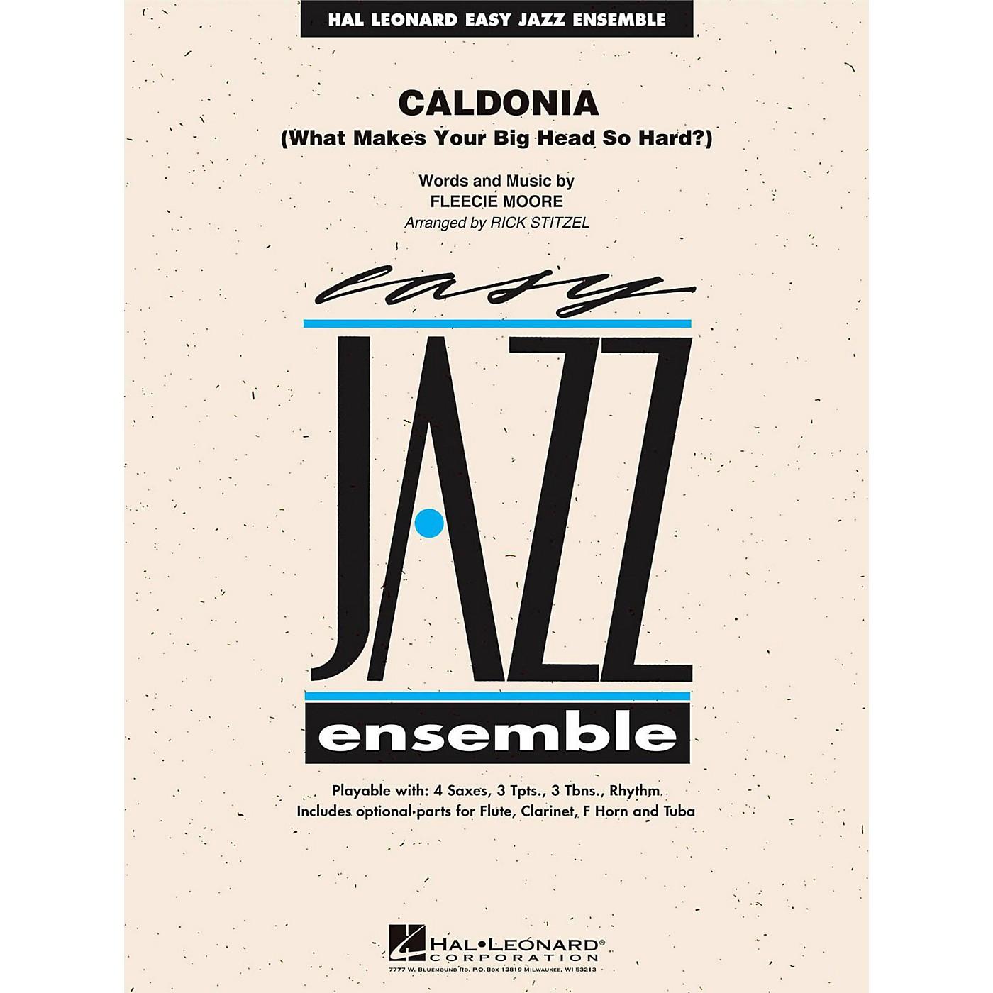 Hal Leonard Caldonia - Easy Jazz Ensemble Series Level 2 thumbnail