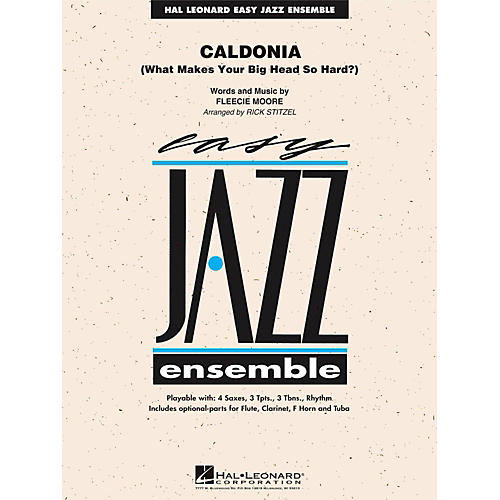 Hal Leonard Caldonia - Easy Jazz Ensemble Series Level 2 thumbnail