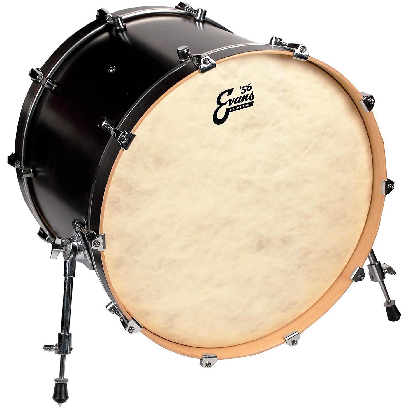 Evans Calftone Bass Drum Head thumbnail