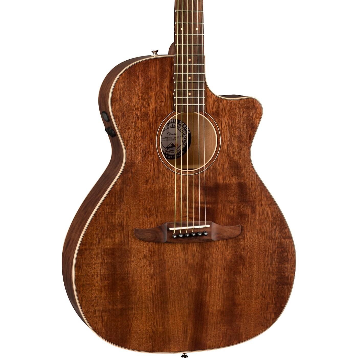 Fender California Newporter Special Pau Ferro Fingerboard Acoustic-Electric Guitar thumbnail