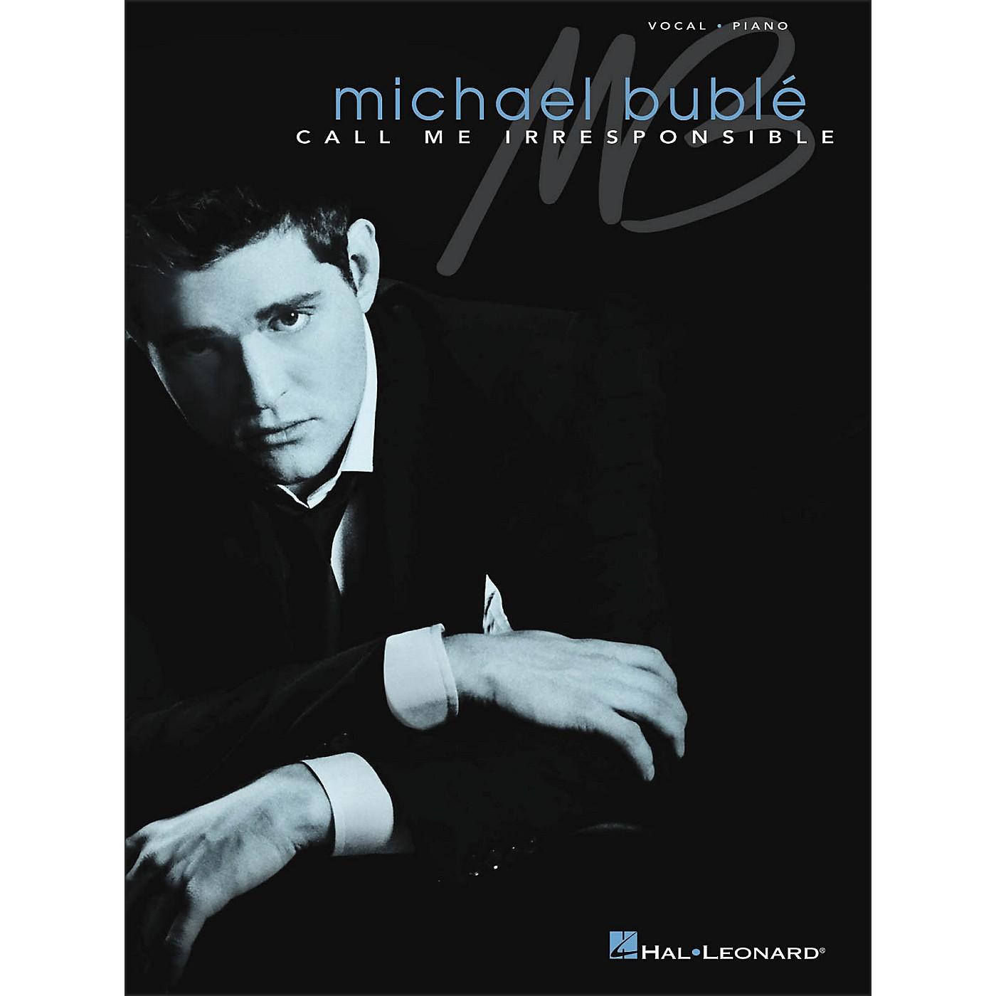 Hal Leonard Call Me Irresponsible - Michael Buble Vocal / Piano thumbnail