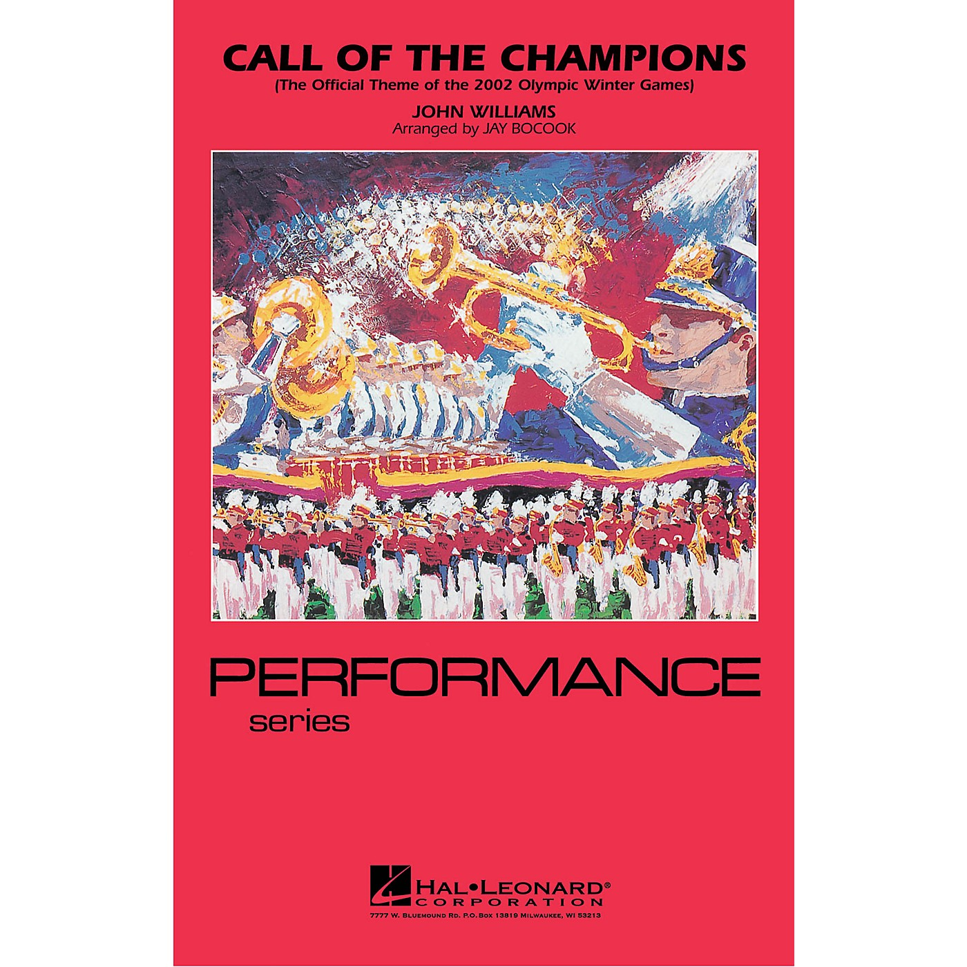 Hal Leonard Call of the Champions Marching Band Level 3-4 Arranged by Jay Bocook thumbnail