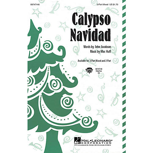 Hal Leonard Calypso Navidad 3-Part Mixed composed by John Jacobson, Mac Huff thumbnail
