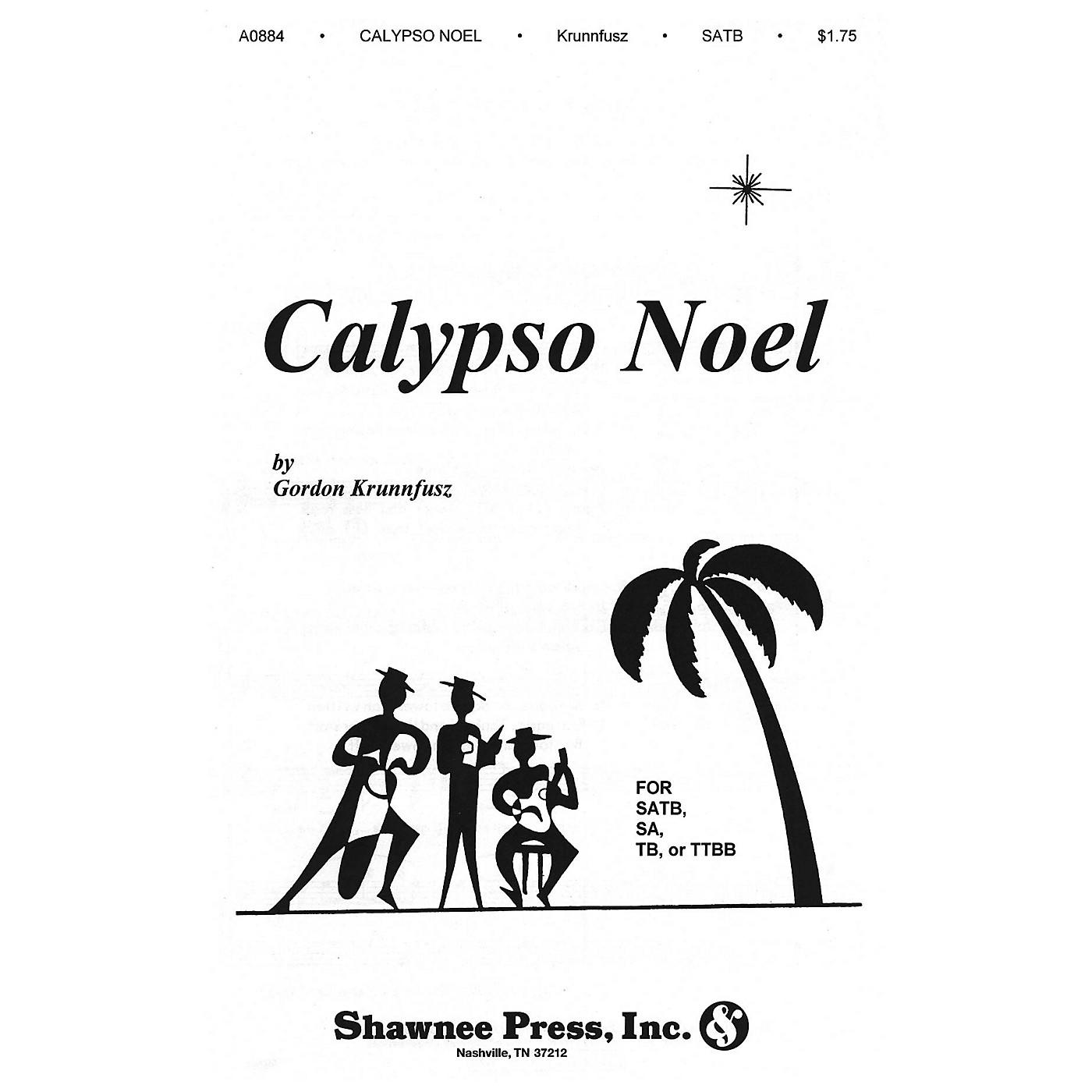 Shawnee Press Calypso Noel (Based on Matthew 1) SATB composed by Gordon Krunnfusz thumbnail