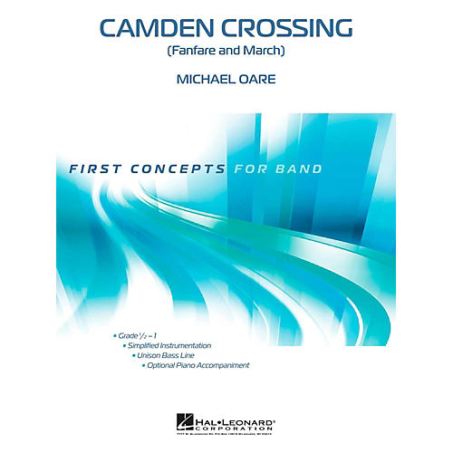 Hal Leonard Camden Crossing - First Concepts (Concert Band)  Level .5 thumbnail