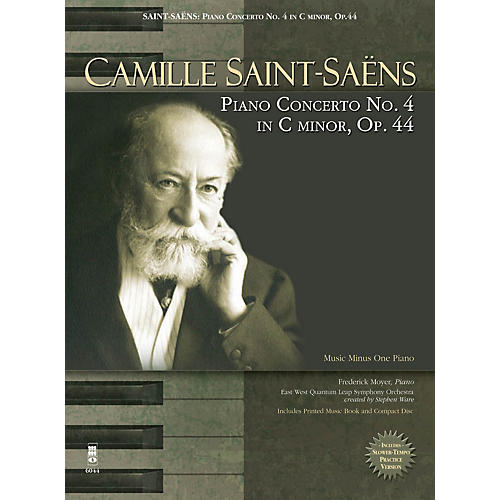 Music Minus One Camille Saint-Saëns - Piano Concerto No. 4 in C Minor, Op. 44 Music Minus One Softcover with CD by Camille Saint-Saëns thumbnail