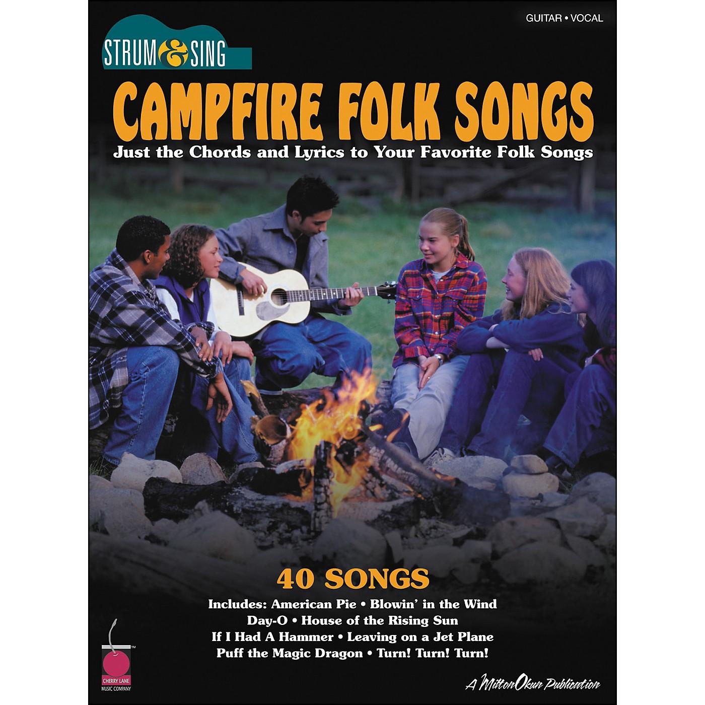 Cherry Lane Campfire Folk Songs - Strum & Sing Series for Easy Guitar thumbnail