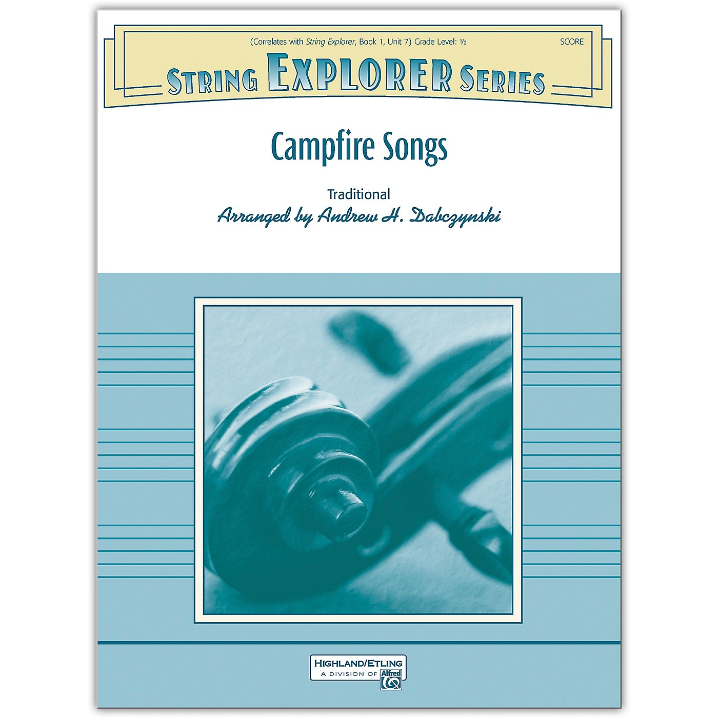 Alfred Campfire Songs Conductor Score 0.5 thumbnail