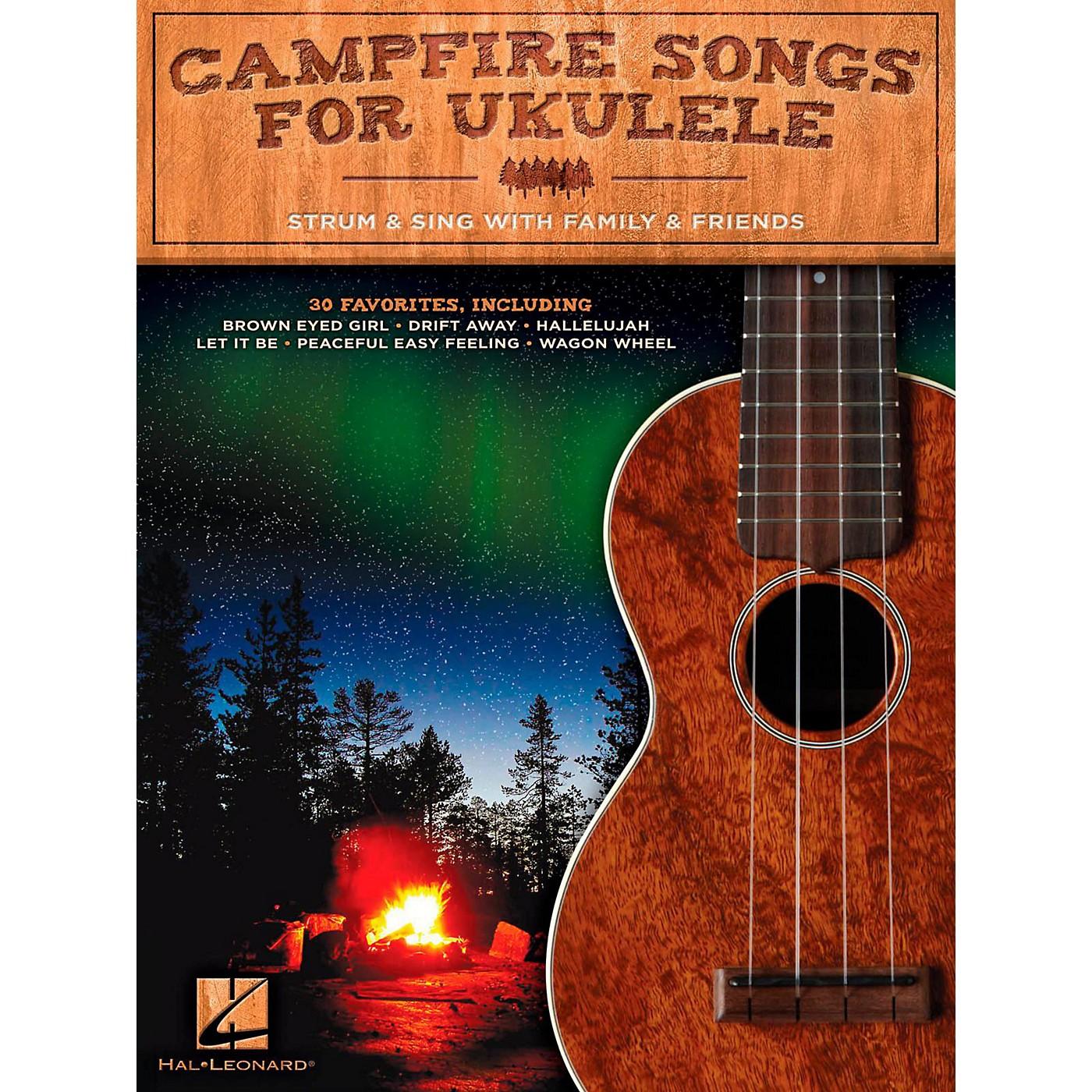 Hal Leonard Campfire Songs For Ukulele thumbnail